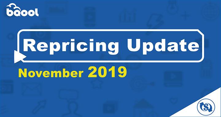 BQool Repricer November 2019 Update