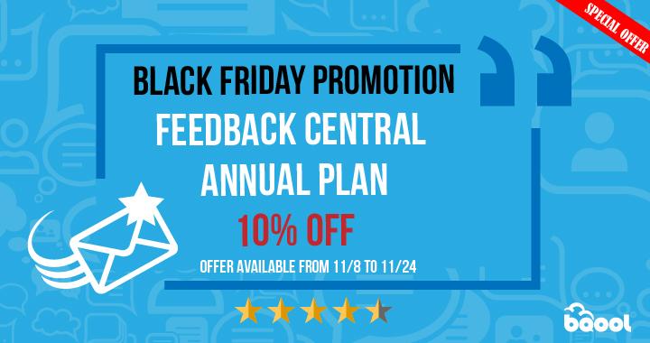 Feedback Central Promotion