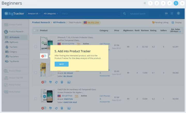 How to find trending products in 2019 - bigtracker - demo5