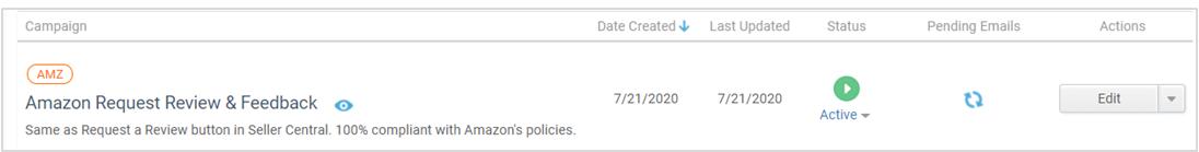 Request a review automation