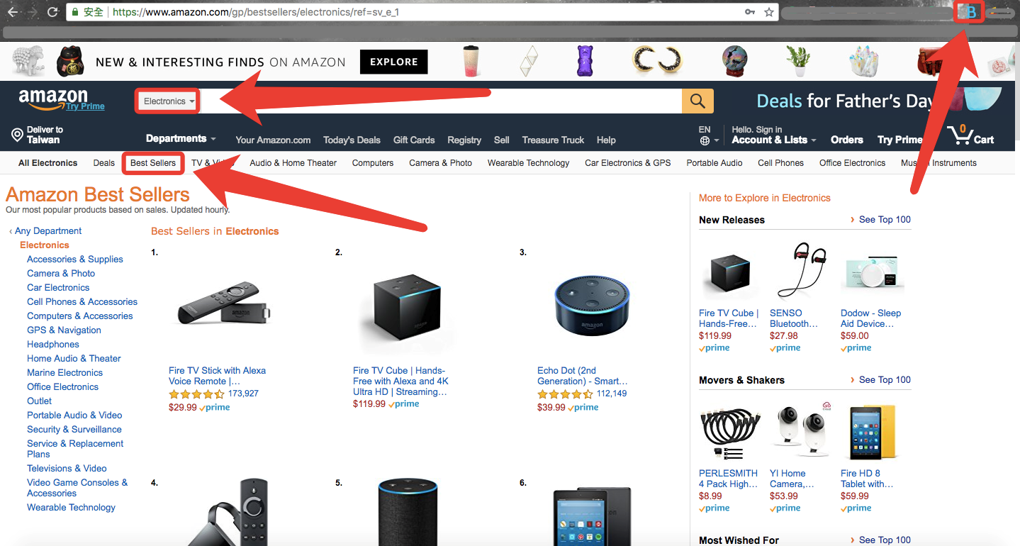 Find profitable products using Amazon