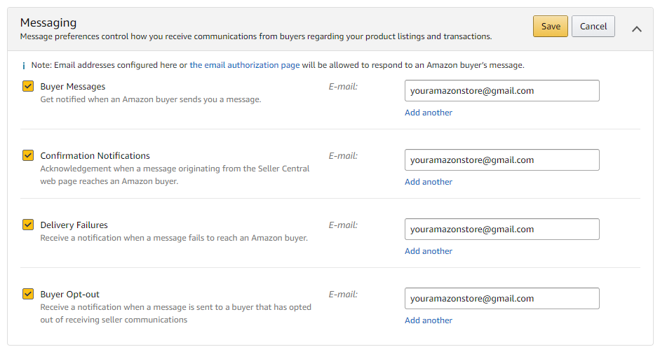 amazon-message-notification-setting