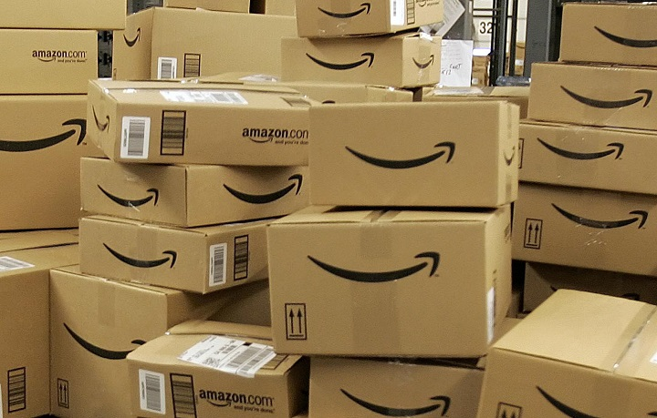 Amazon Returns Boxes