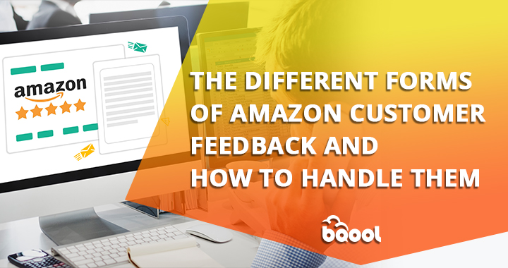 different forms of Amazon customer feedback