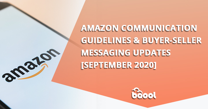 Amazon Communication Guidelines Updates Sep 2020
