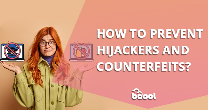 how to prevent hijackers and counterfeit?