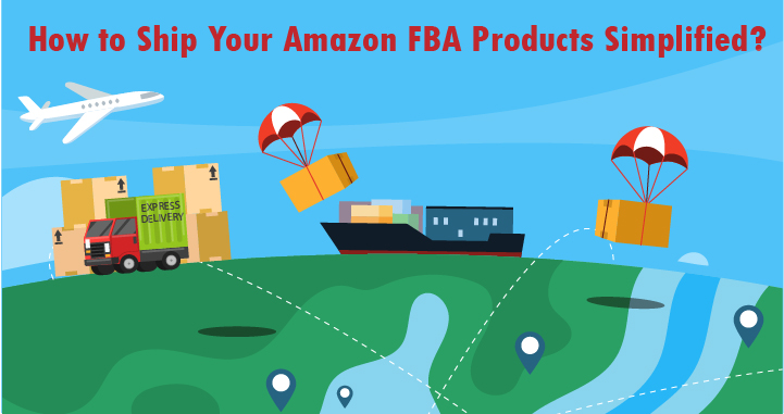 how to ship fba product